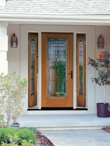 Saratoga Glass Front Door