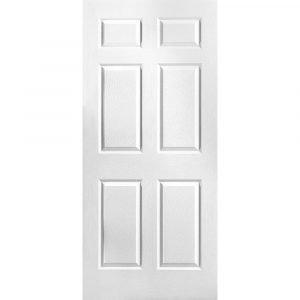 8' Six Panel Front Door