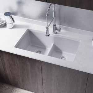 Under Mount Double Sink