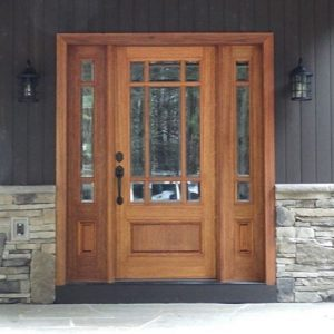 8' Saratoga Glass Front Door