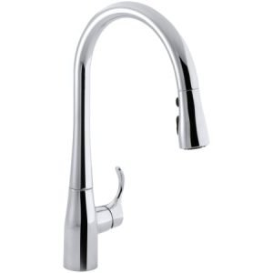 Pull Out Faucet With Sprayer